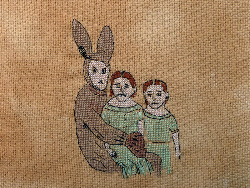 Annabel Elgar, Lockdown Cross-Stitch, Week one