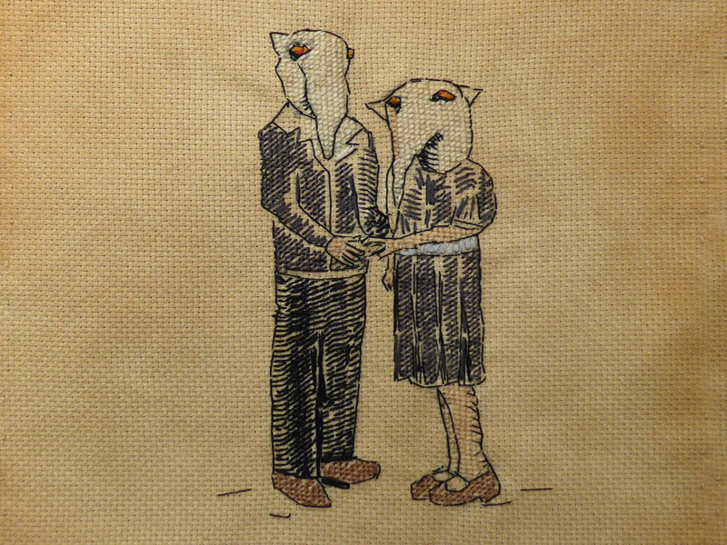 Annabel Elgar, Lockdown Cross-Stitch, Week four