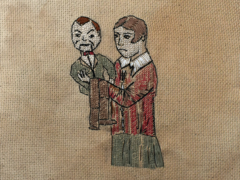 Annabel Elgar, Lockdown Cross-Stitch, Week six