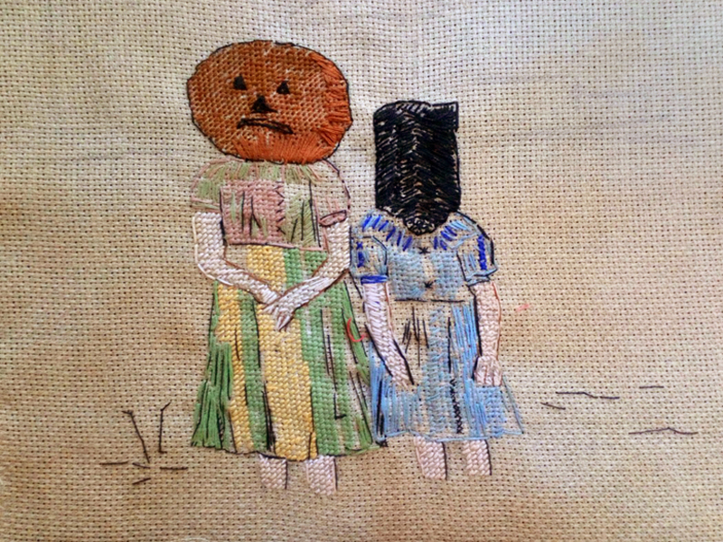 Annabel Elgar, Lockdown Cross-Stitch, Week eight