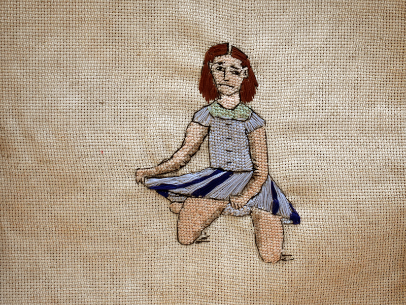 Annabel Elgar, Lockdown Cross-Stitch, Tier 4